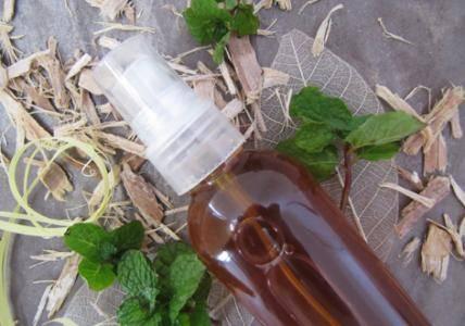 Recette Lotion peau nette Tépezcohuite & Menthe verte